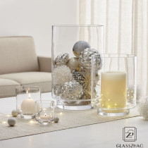 Decorative Glassware Custom OEM Glass Tea Light Candle Holder