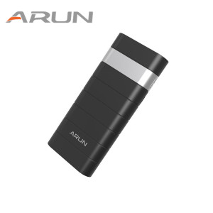 ARUN Original 12500mah Business Design Portable Power Bank Fast Charging For Phones Tablet PC