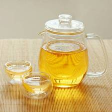 Elegant Glassware High Borosilicate Thin Glass Tea Infusion Cup