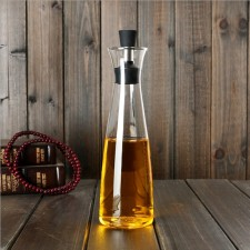 High Quality Unbreakable Crystal Clear Olive Oil Glass Bottle