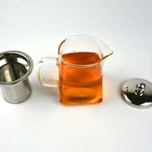 Heat Resistant Glass Tea Coffee Cup With Handle