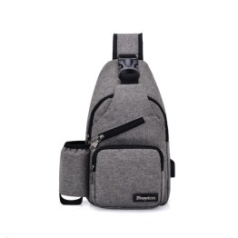 Lightweight Hiking Travel Backpack Daypack Sling Chest Bag for Men