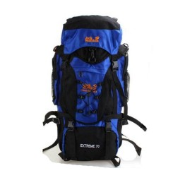 70L Waterproof Nylon Multi-pocket Mountain Bag Backpack for Hiking